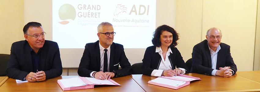 L'agglomération du Grand Guéret, partenaire d'ADI N-A