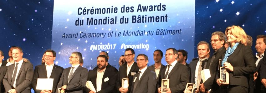 AIRMAT remporte l'or au concours de l'Innovation du Mondial du Bâtiment