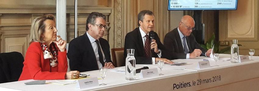 Forsee Power crée un site industriel  sur le territoire de Grand Poitiers
