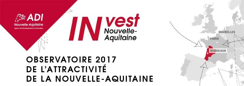 La Nouvelle-Aquitaine attire encore plus d'entreprises et d'emplois en 2017