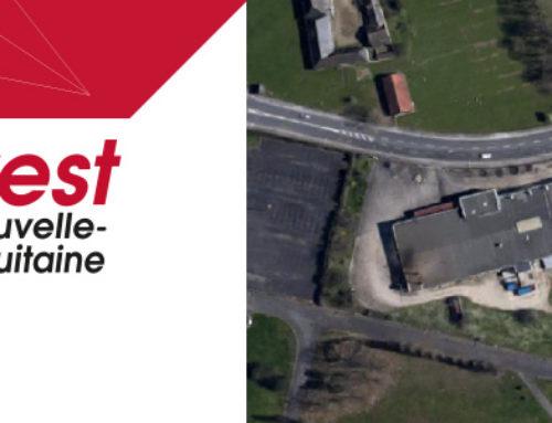Disponibilité foncière de 9000 m2 à Brive-la-Gaillarde