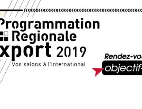 Programmation Régionale Export 2019