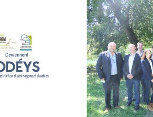 ODÉYS ! Votre nouveau Cluster Construction et Aménagement Durables en Nouvelle-Aquitaine !