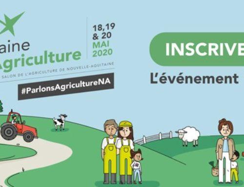 Semaine de l'Agriculture en Nouvelle-Aquitaine : événement 100 % en ligne