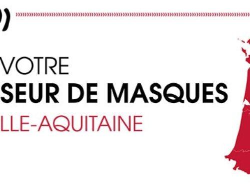 Trouvez votre fournisseur de masques en Nouvelle-Aquitaine