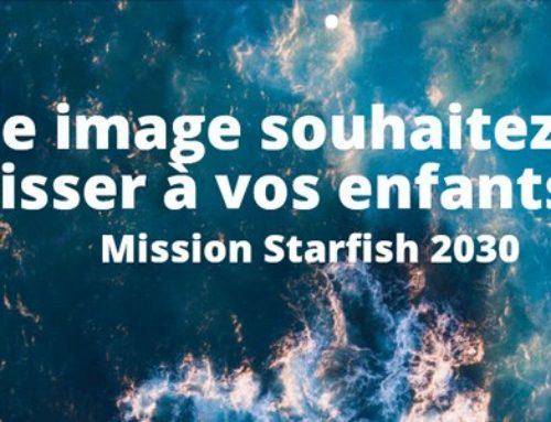 Enquête STARFISH : restaurerl'océan, les mers, lacs, fleuves et rivières