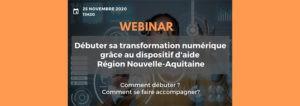 Webinar Débuter sa transformation numérique
