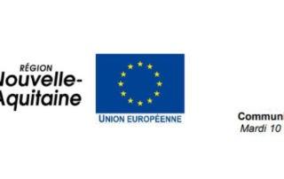Communiqué de presse Nouvelle-Aquitaine, Union Européenne
