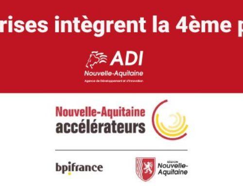 30 entreprises intègrent la 4ème promotion de l'Accélérateur PME-ETI Nouvelle-Aquitaine