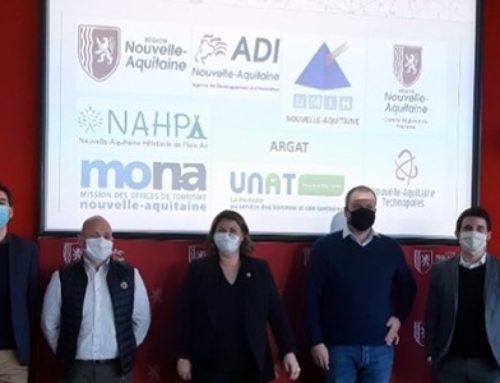 1er comité de pilotage du Tourisme Lab Nouvelle-Aquitaine