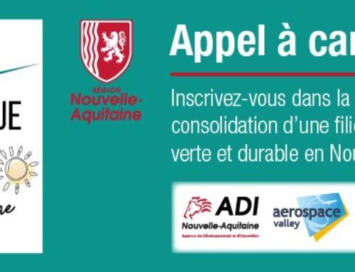 Inscrivez-vous dans la démarche de consolidation d'une filière mobilité aérienne verte et durable en Nouvelle-Aquitaine