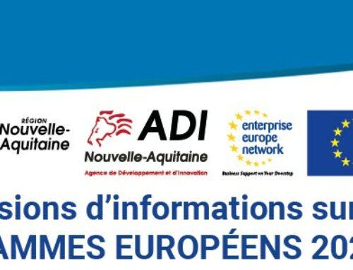 Sessions d'informations sur les PROGRAMMES EUROPÉENS 2021-2027