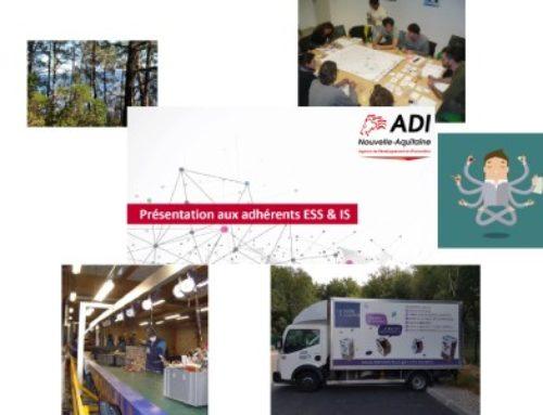 Retour sur la première Rencontre de la Communauté des Adhérents ESS/IS d'ADI N-A