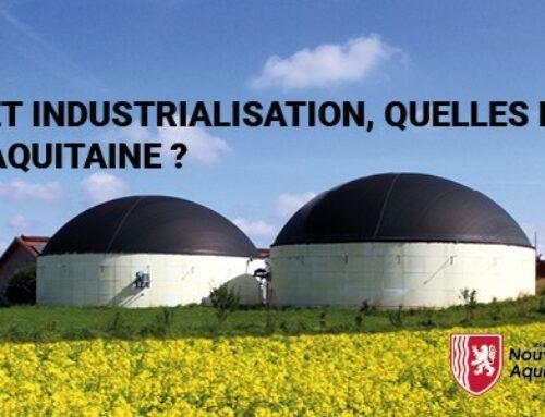 Biogaz : innovations et industrialisation, quelles perspectives en Nouvelle-Aquitaine ?