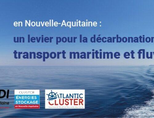 L'Hydrogène en Nouvelle-Aquitaine:   un levier pour la décarbonation du secteur maritime et fluvial