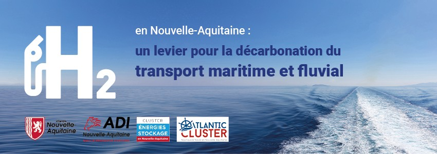 H2 pour décarbonation du transport maritime et fluvial