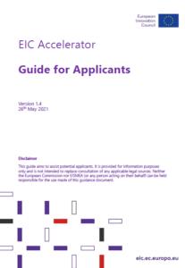 Guide EIC Accélérateur