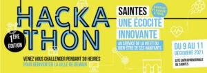 Hackathon Saintes - 9-11 décembre 2021