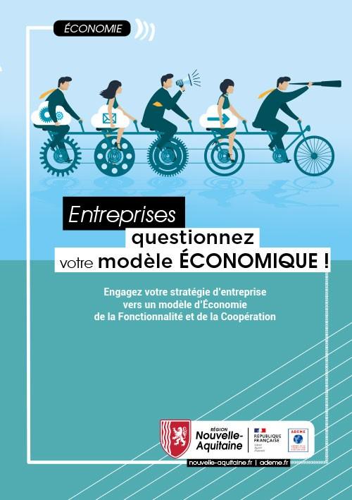"""Flyer """"Entreprises, questionnez votre modèle économique"""""""